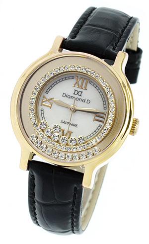 Đồng  hồ Diamond D DM3638L5IG-B